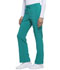 Photograph of Dickies Every Day EDS Essentials Mid Rise Straight Leg Drawstring Pant in Teal Blue