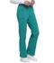 Photograph of Dickies EDS Essentials Mid Rise Straight Leg Drawstring Pant in Teal Blue