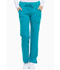 Photograph of Dickies Xtreme Stretch Mid Rise Rib Knit Waistband Pant in Teal