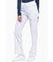 Photograph of Dickies Xtreme Stretch Mid Rise Rib Knit Waistband Pant in White
