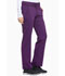 Photograph of Dickies Xtreme Stretch Mid Rise Rib Knit Waistband Pant in Eggplant