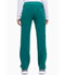 Photograph of Xtreme Stretch Women's Mid Rise Rib Knit Waistband Pant Green DK020-HTRZ
