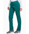 Photograph of Dickies Xtreme Stretch Mid Rise Rib Knit Waistband Pant in Hunter