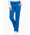 Photograph of Xtreme Stretch Women Mid Rise Rib Knit Waistband Pant Blue DK020-RYLZ