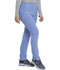 Photograph of Retro Women Mid Rise Tapered Leg Pull-on Cargo Pant Blue DK035-CIE