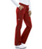 Photograph of Dickies Gen Flex Low Rise Straight Leg Drawstring Pant in Crimson