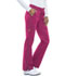 Photograph of Gen Flex Women's Low Rise Straight Leg Drawstring Pant Pink DK100-HPKZ