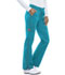Photograph of Gen Flex Women's Low Rise Straight Leg Drawstring Pant Blue DK100-ITQZ