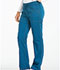 Photograph of Dickies Essence Mid Rise Straight Leg Drawstring Pant in Caribbean Blue