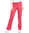 Photograph of Dickies Essence Mid Rise Straight Leg Drawstring Pant in Hot Pink