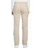 Photograph of Dickies Essence Women's Mid Rise Straight Leg Drawstring Pant Khaki DK106-KAK