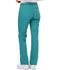 Photograph of Dickies Essence Mid Rise Straight Leg Drawstring Pant in Teal Blue