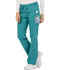 Photograph of Essence Women Mid Rise Straight Leg Drawstring Pant Blue DK106-TLB