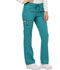 Photograph of Dickies Essence Women's Mid Rise Straight Leg Drawstring Pant Blue DK106-TLB