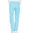 Photograph of Essence Women Mid Rise Straight Leg Drawstring Pant Blue DK106-TRQ