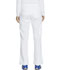 Photograph of Essence Women Mid Rise Straight Leg Drawstring Pant White DK106-WHT