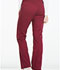 Photograph of Dickies Essence Women's Mid Rise Straight Leg Drawstring Pant Red DK106-WIN