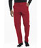 Photograph of Dynamix Men's Men's Zip Fly Cargo Pant Red DK110-RED