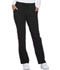 Photograph of Xtreme Stretch Women's Mid Rise Straight Leg Drawstring Pant Black DK112-BLKZ