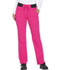 Photograph of Xtreme Stretch Women's Mid Rise Straight Leg Drawstring Pant Pink DK112-HPKZ