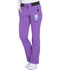 Photograph of Xtreme Stretch Women's Mid Rise Straight Leg Drawstring Pant Purple DK112-PLCS