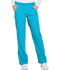 Photograph of Dickies Dynamix Women Mid Rise Straight Leg Pull-on Pant Blue DK120-BLCE