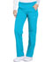 Photograph of Dynamix Women's Mid Rise Straight Leg Pull-on Pant Blue DK120-BLCE