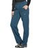 Photograph of Dickies Dynamix Women's Mid Rise Straight Leg Pull-on Pant Blue DK120-CAR