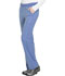 Photograph of Dynamix Women's Mid Rise Straight Leg Pull-on Pant Blue DK120-CIE