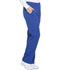 Photograph of Dickies Dynamix Women's Mid Rise Straight Leg Pull-on Pant Blue DK120-GAB