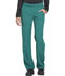 Photograph of Dickies Dynamix Women's Mid Rise Straight Leg Pull-on Pant Green DK120-HUN