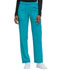 Photograph of Dickies Dynamix Women's Mid Rise Straight Leg Pull-on Pant Blue DK120-TLB
