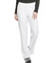 Photograph of Dynamix Women's Mid Rise Straight Leg Pull-on Pant White DK120-WHT