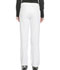 Photograph of Dickies Dynamix Women's Mid Rise Straight Leg Pull-on Pant White DK120-WHT