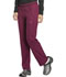 Photograph of Dickies Dynamix Women's Mid Rise Straight Leg Pull-on Pant Red DK120-WIN