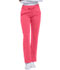 Photograph of Dickies Dynamix Women's Mid Rise Straight Leg Drawstring Pant Red DK130P-DNSU