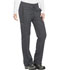 Photograph of Dickies Dynamix Women's Mid Rise Straight Leg Drawstring Pant Gray DK130P-PWT