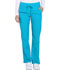 Photograph of Dickies Dynamix Women's Mid Rise Straight Leg Drawstring Pant Blue DK130-BLCE
