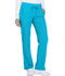 Photograph of Dickies Dynamix Women Mid Rise Straight Leg Drawstring Pant Blue DK130-BLCE