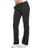Photograph of Dickies Dynamix Women's Mid Rise Straight Leg Drawstring Pant Black DK130-BLK