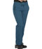 Photograph of Dickies Dynamix Women Mid Rise Straight Leg Drawstring Pant Blue DK130-CAR