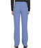 Photograph of Dickies Dynamix Women's Mid Rise Straight Leg Drawstring Pant Blue DK130-CIE