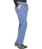 Photograph of Dynamix Women's Mid Rise Straight Leg Drawstring Pant Blue DK130-CIE