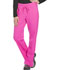 Photograph of Dickies Dynamix Women's Mid Rise Straight Leg Drawstring Pant Pink DK130-COPK