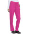Photograph of Dickies Dickies Dynamix Mid Rise Straight Leg Drawstring Pant in Hot Pink
