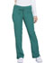 Photograph of Dickies Dynamix Women's Mid Rise Straight Leg Drawstring Pant Green DK130-HUN