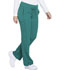 Photograph of Dynamix Women's Mid Rise Straight Leg Drawstring Pant Green DK130-HUN