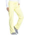 Photograph of Dickies Dickies Dynamix Mid Rise Straight Leg Drawstring Pant in Lemon Twist