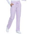 Photograph of Dickies Dickies Dynamix Mid Rise Straight Leg Drawstring Pant in Lavender Spark