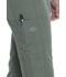 Photograph of Dickies Dynamix Women Mid Rise Straight Leg Drawstring Pant Green DK130-OLV